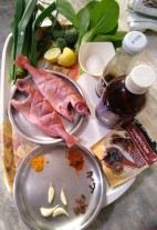 Ingredients of Snapper in Tamarind Sauce