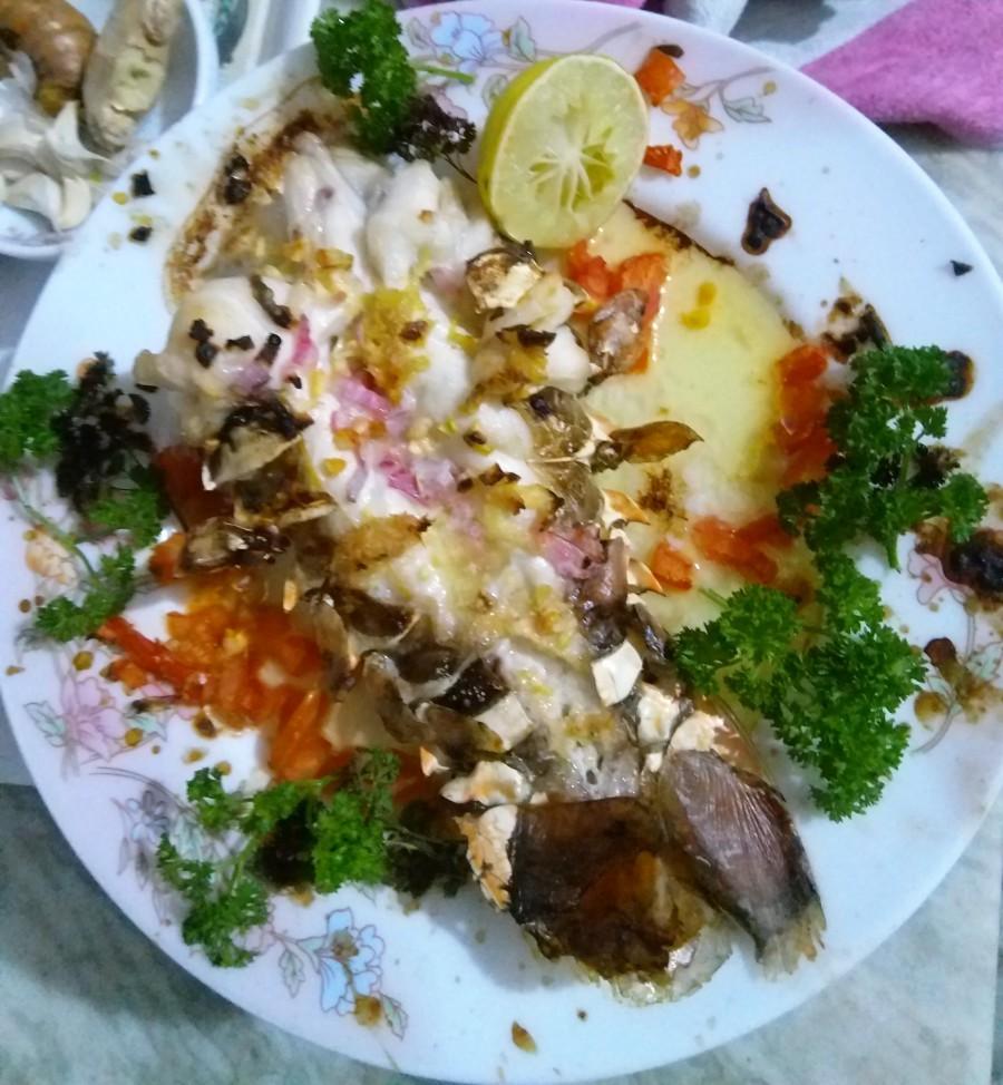 Rock Lobster in Garlic Sauce