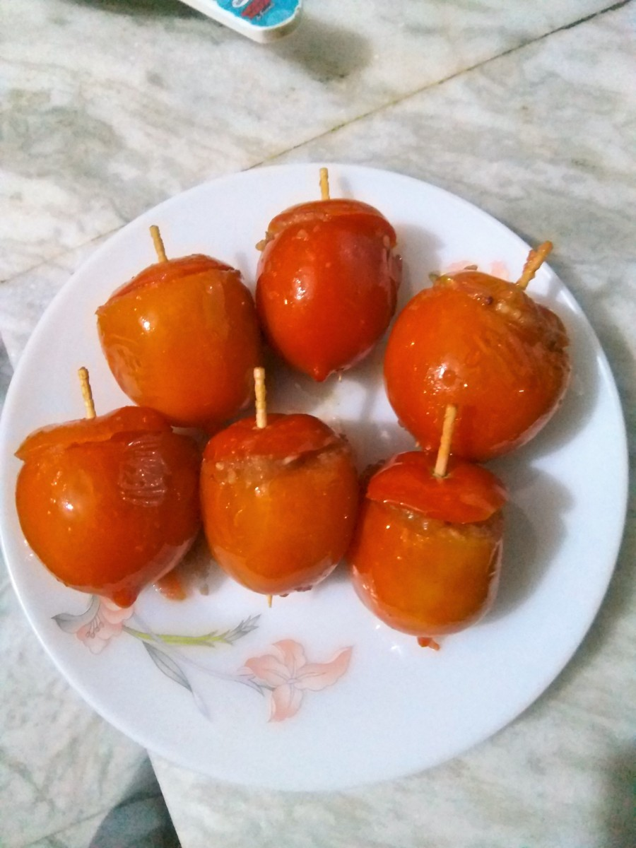 tasty stuffed tomatoes