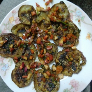 Eggplant / Brinjal Chops