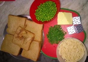 How to prepare spaghetti & cheese balls