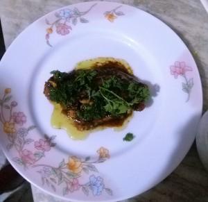 Ginger Garlic Mahi Mahi in Soy Sauce