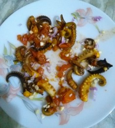 Fried Octopus Tentacles