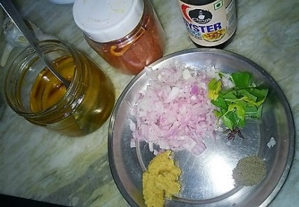 Ingredients of Basa Chili Basil