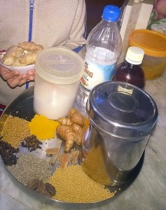 Ingredients of Gajar Shalgam Gobhi Ka Achaar