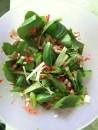 Preparing Kimchi Salad