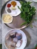 Ingredients for Machhi Jaisamandi
