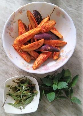 Recipe by Ingredients of Neem Begun