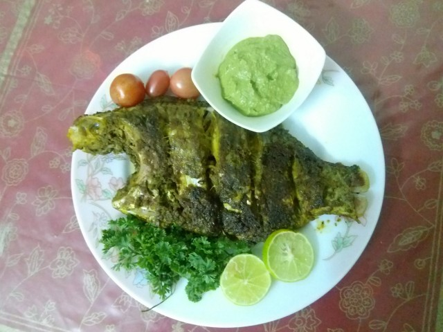 Pan Fried Tilapia / Jaebi Fish