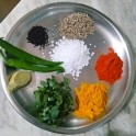 Ingredients of Pabda Macher Jhol