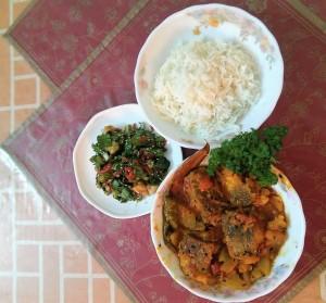 Rui Macher Kalia / Rohu Fish Curry