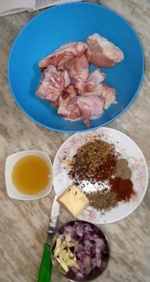 Ingredients of Honey Glazed Turkey
