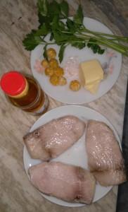 Cobia Fillet in Celery & Tangerine Butter