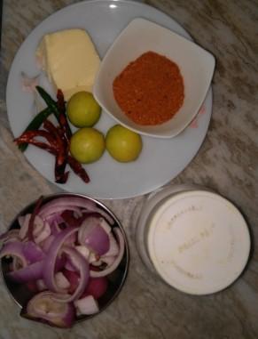 Ingredients of Turkey in Piri Piri Sauce