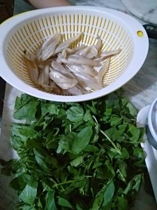 Ingredients of Anchovy Fillet in Basil & Tamarind Sauce