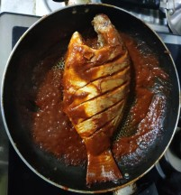 Tilapia in Paprica Sauce