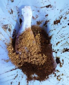 Pan Fried Piri Piri Chicken Leg