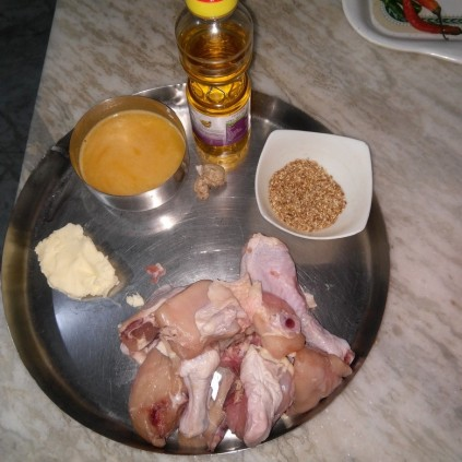 Ingredients of Chicken Teriyaki